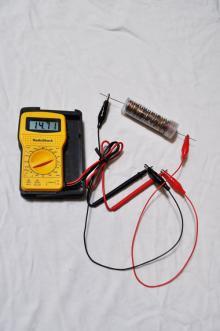 coin tube battery